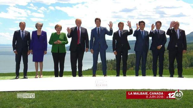 Le sommet du G7 a bel et bien tourné au fiasco [RTS]