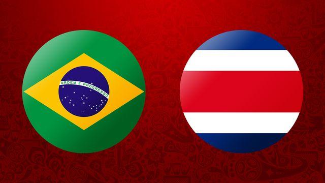 Brésil   Costa Rica