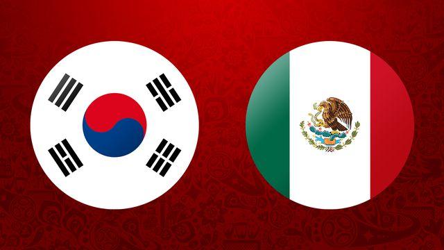 Corée   Mexique