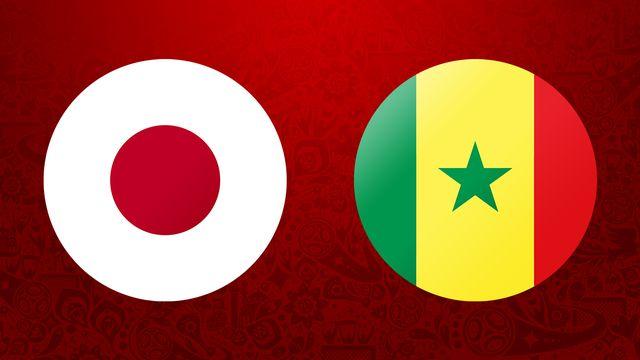 Japon   Sénégal