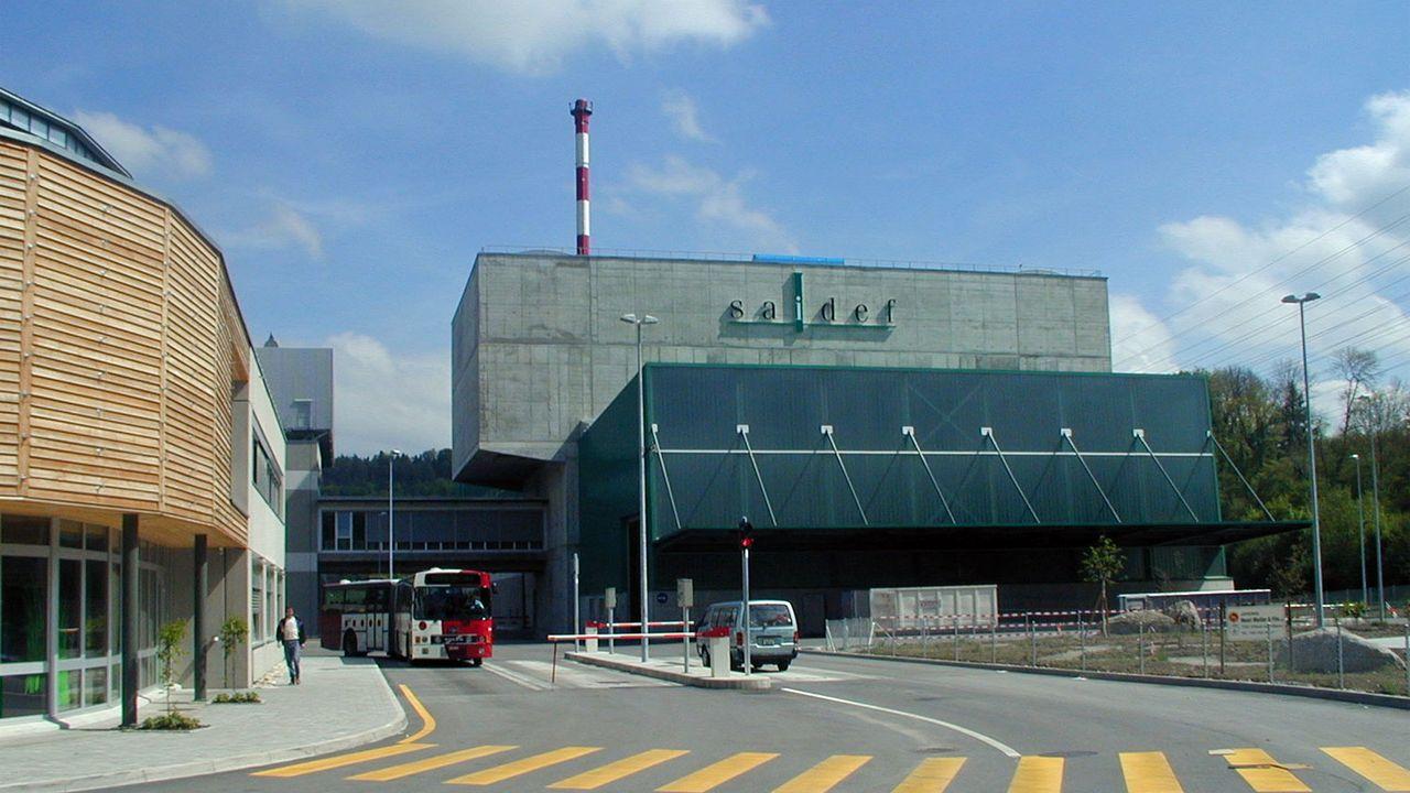 L'usine d'incinération fribourgeoise va pouvoir extraire plus efficacement les métaux non-ferreux. [saidef.ch]