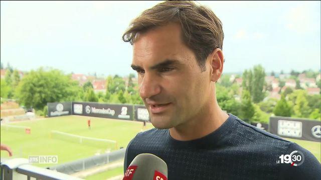 Tennis: de retour à Stuttgart, Roger Federer se dit prêt, frais et en bonne santé [RTS]