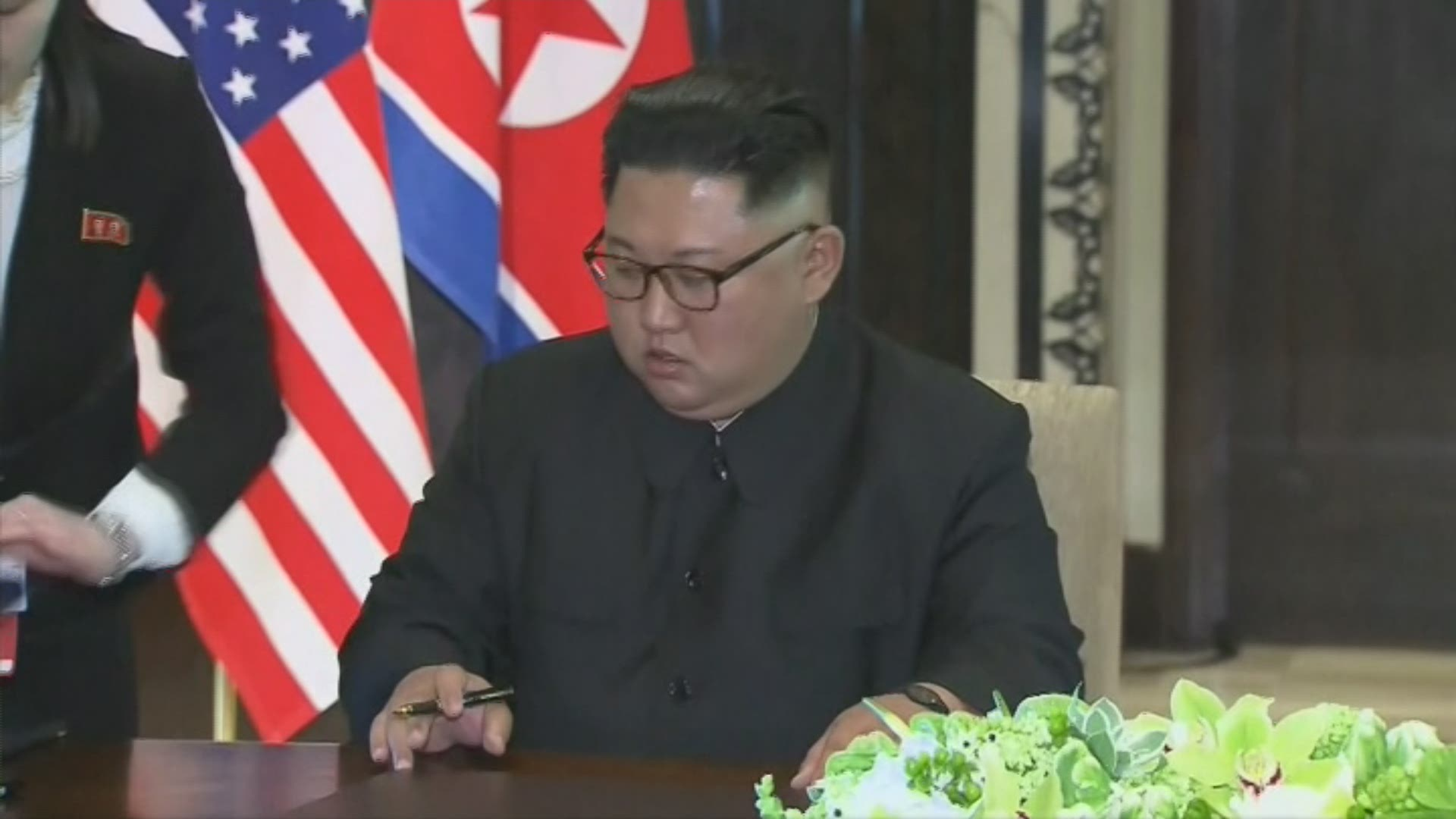 Donald Trump promet d'inviter Kim Jong-un à Washington.