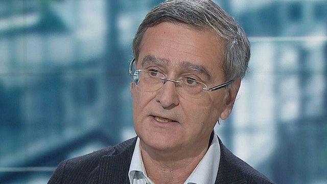 Le météorologue Martin Beniston, professeur honoraire de l'Université de Genève. [RTS]