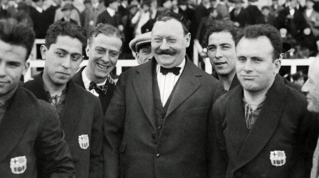 Joan Gamper, fondateur de Barcelone en 1899. [RTS]