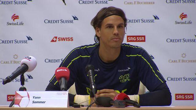 Conférence de Presse de l'Equipe de Suisse [RTS]
