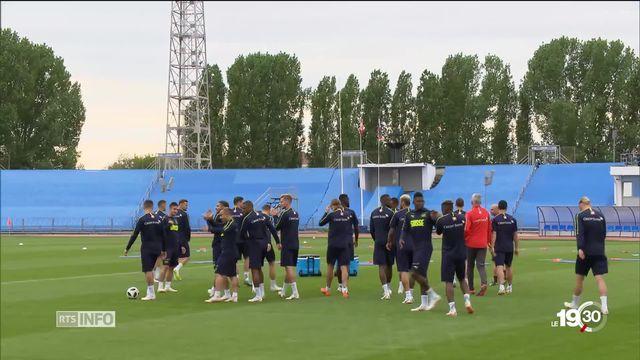 Coupe du monde de foot: les Suisses sont sur place en Russie. Ils ont pu découvrir leur camp de base [RTS]
