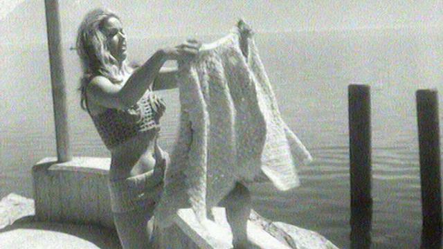 En 1969, la mode estivale se met au tricot. [RTS]