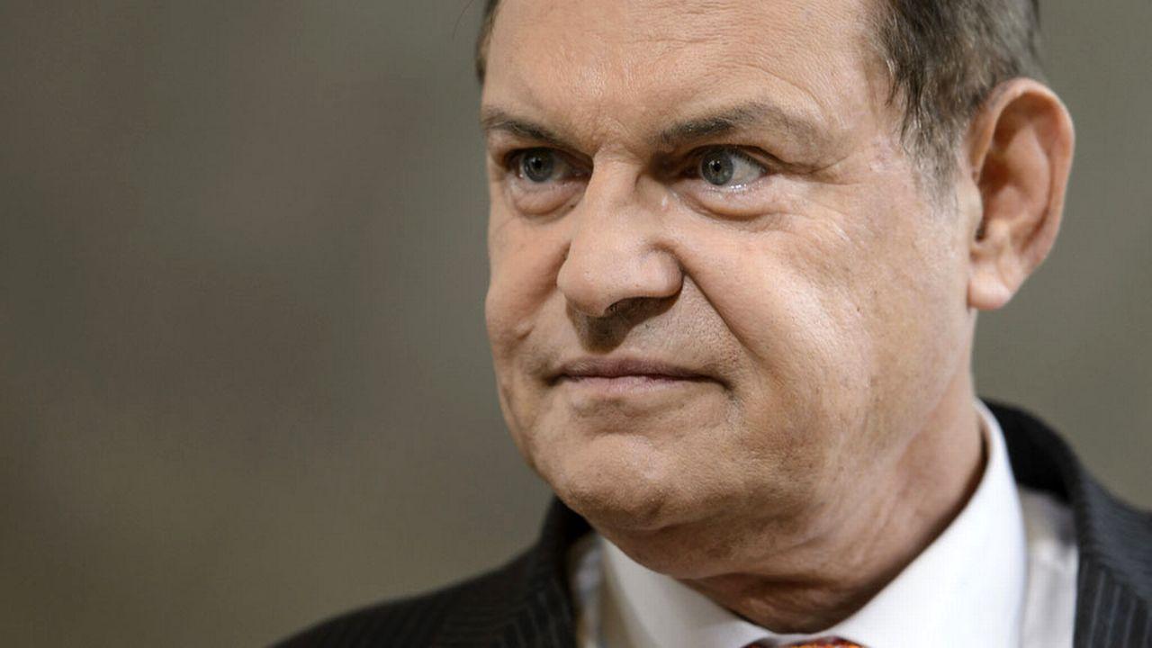 Claude Béglé est un ancien directeur général de La Poste. [Jean-Christophe Bott - Keystone]
