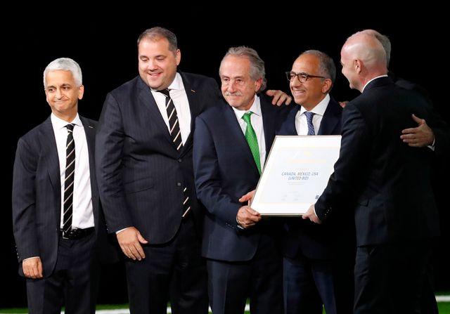 """Le Mondial 2026 récompense de l'essor du """"soccer"""" en Amérique du Nord. [Sergei Chirikov - EPA/Keystone]"""