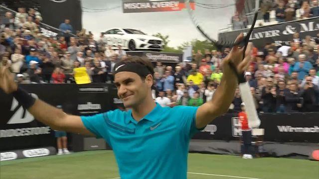 Stuttgart, 2e tour, R.Federer (SUI) - M.Zverev (ALL) 3-6, 6-4, 6-2: Federer s'impose d'entrée pour son retour à la compétition [RTS]