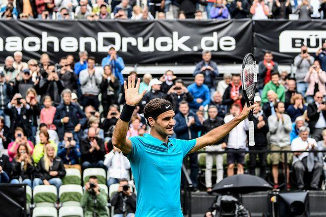 En cas d'accession à la finale, Federer sera à nouveau no1 mondial. [Urs Lindt - Freshfocus]