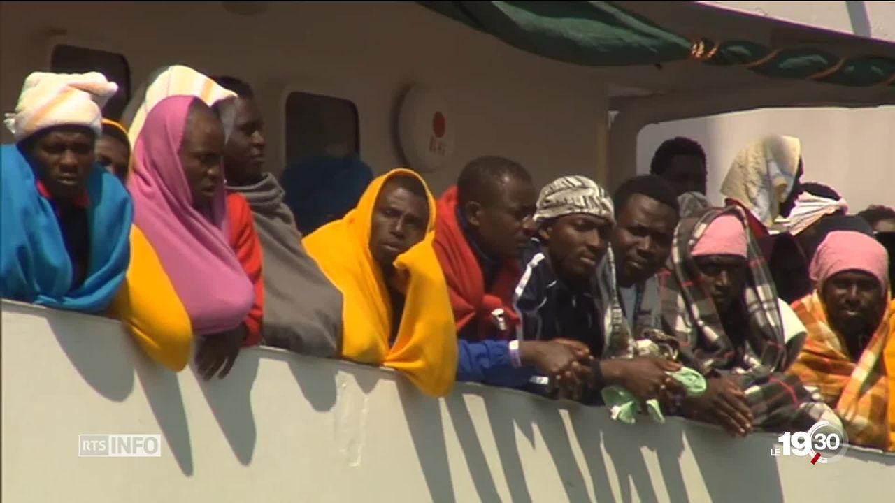 L'Europe se déchire sur les migrants. Un nouveau front se crée entre l'Italie, l'Allemagne et l'Autriche [RTS]