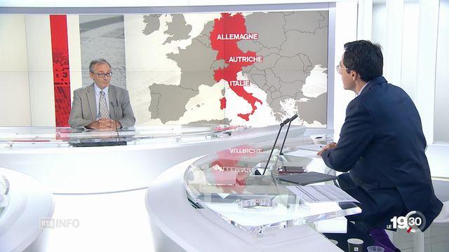 Polémique Aquarius: les explications de Vincent Cochetel, envoyé spécial HCR en méditerranée [RTS]