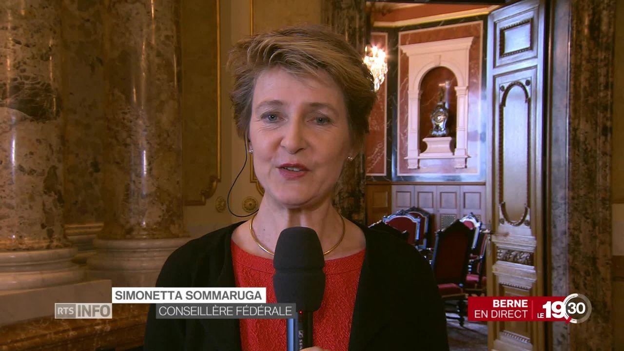 Quotas de femmes: entretien avec Simonetta Sommaruga (1-2) [RTS]