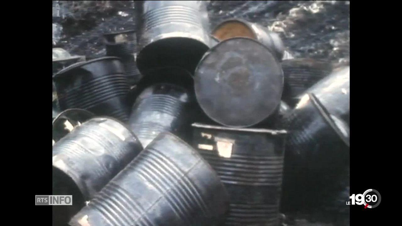 Chimie à Bonfol (JU): 750 tonnes de déchets avaient disparu [RTS]