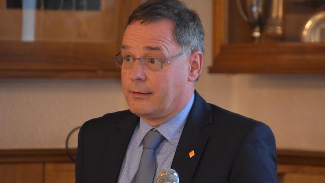 Pascal Eschmann est devenu le nouveau président du PDC Jura [Gaël Klein - RTS]