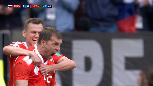 Gr.A, Russie – Arabie saoudite (5-0): le meilleur du match d'ouverture