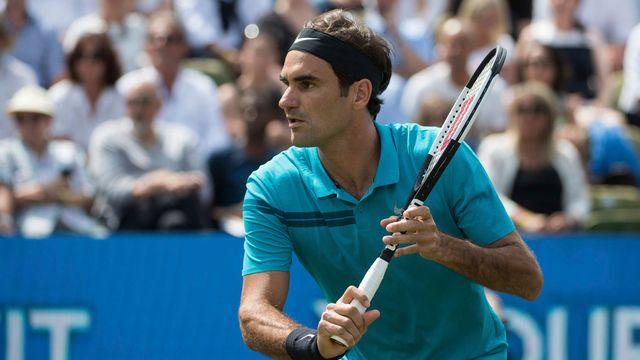 Federer n'est plus qu'à un succès de retrouver son trône. [Marijan Murat - Keystone]