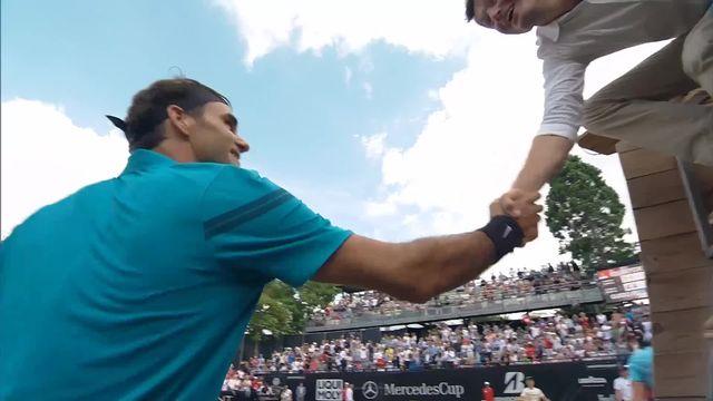 Stuttgart, 1-4, R.Federer (SUI) - G.Pella (ARG) 6-4, 6-4: Federer passe en deux sets [RTS]