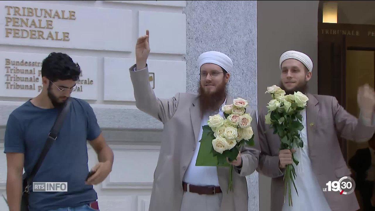 Tribunal pénal fédéral de Bellinzone: Nicolas Blancho, président du Conseil central islamique, et son bras droit, acquittés [RTS]