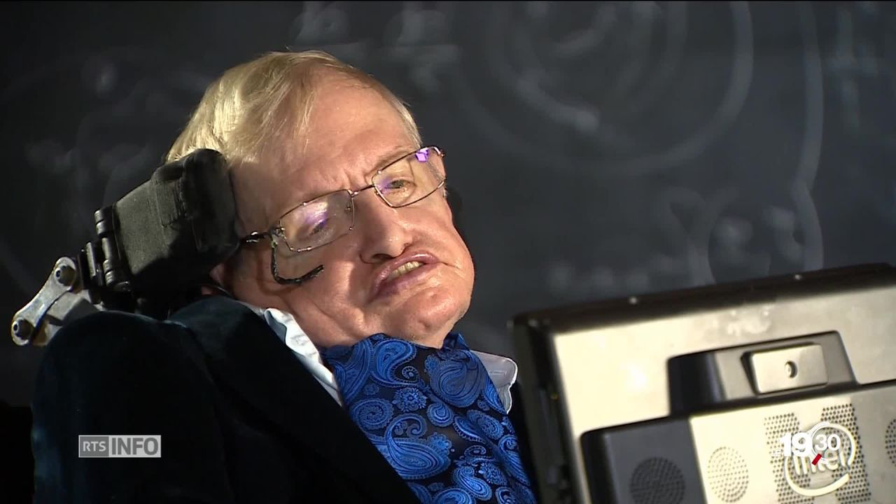 Stephen Hawking: les centres de l'astrophysicien ont été enterrées en l'abbaye de Westminster à Londres, entre Newton et Darwin [RTS]