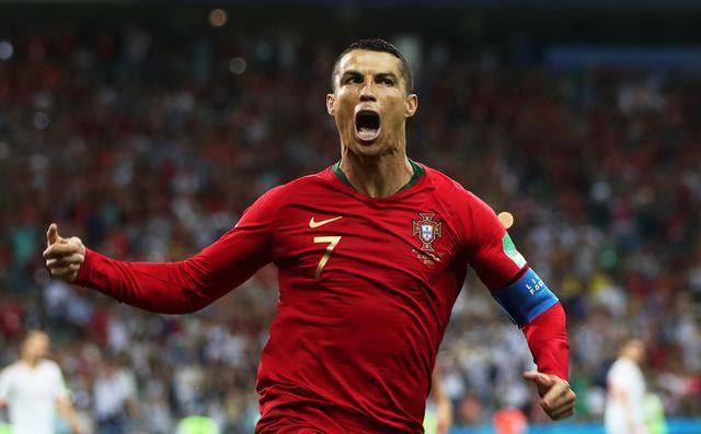 Ronaldo est entré dans l'histoire. [Friedemann Vogel - Keystone]