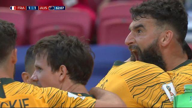 Gr.C, France – Australie (1-1) : 62e, Jedinak remet les deux équipes à égalité! [RTS]