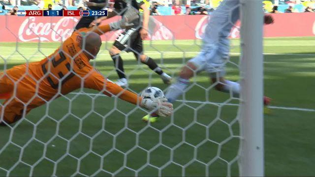 Gr.D, Argentine – Islande (1-1) : Tous les buts du match [RTS]