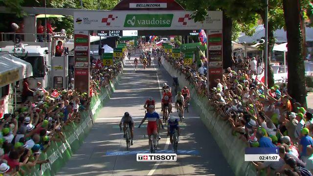 Tour de Suisse, 8ème étape: Arnaud Demare (FRA) remporte le sprint final [RTS]