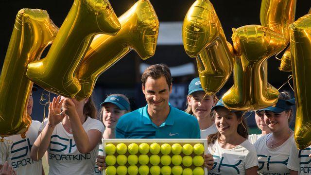 Federer a écrit une nouvelle page de sa légende. [Marijan Murat - Keystone]