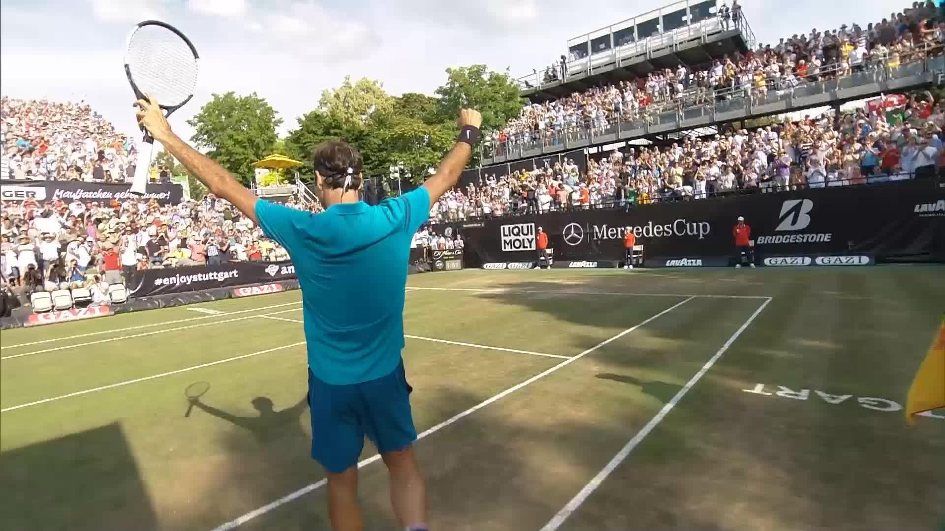 Federer contre Raonic en finale à Stuttgart — Tennis