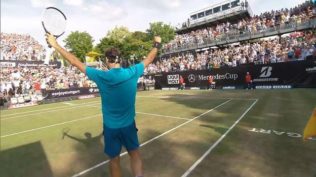 Stuttgart, 1-2, R.Federer (SUI) - N.Kyrgios (AUS) 6-7 6-2 7-6: le Suisse redevient numéro 1 mondial à 36 ans [RTS]