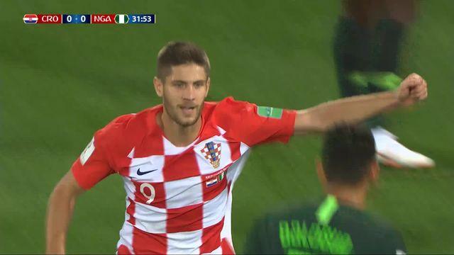 Gr. D, Croatie - Nigéria 1-0: 32e CSC Etebo [RTS]