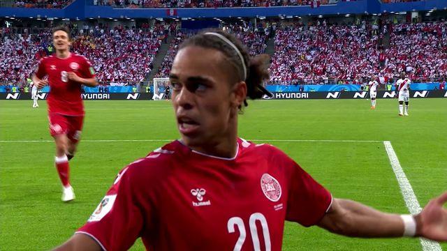 Résumé de Pérou - Danemark (0-1)
