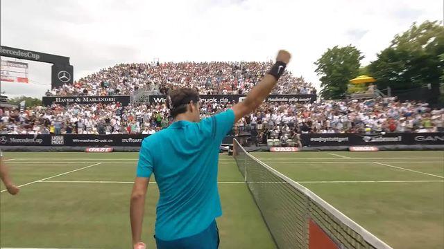Finale, R.Federer - M.Raonic 6-4, 7-6: Federer s'impose et remporte son 98e titre [RTS]