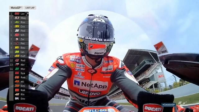 MotoGP, GP de Catalogne (ESP) : victoire de Lorenzo (ESP) devant Marquez (ESP) et Rossi (ITA) [RTS]