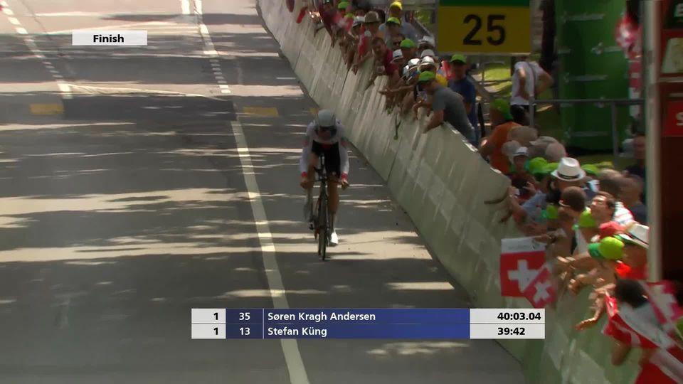 Tour de Suisse, 9e étape: Stefan Küng (SUI) le plus rapide aujourd'hui [RTS]