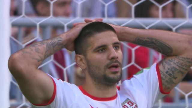 Résumé du match Costa Rica - Serbie (0-1)