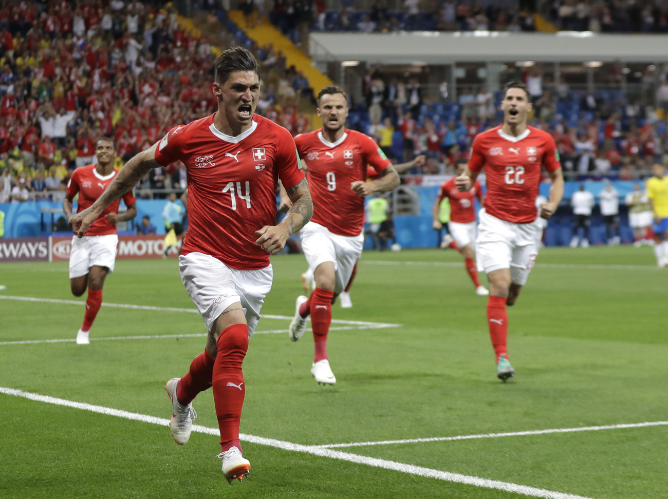 Regardez le match en direct (Mondial 2018) — Brésil Vs Suisse