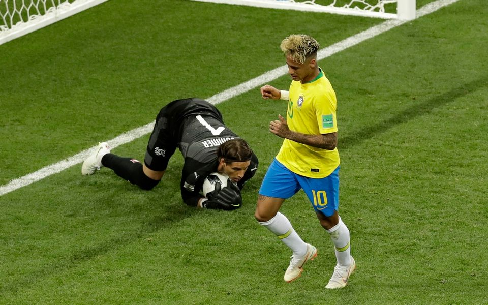 Sommer a frustré Neymar et ses coéquipiers à de nombreuses reprises. [Andrew Medichini - Keystone]