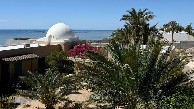 L'archipel tunisien des Kerkennah est devenu un lieu de passage des migrants. [Fethi Belaïd - AFP]