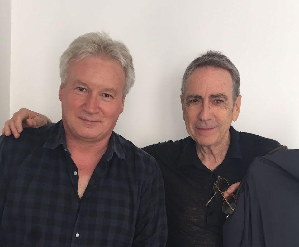 Derrière les notes: Philippe Robin et AlainChamfort. [RTS]