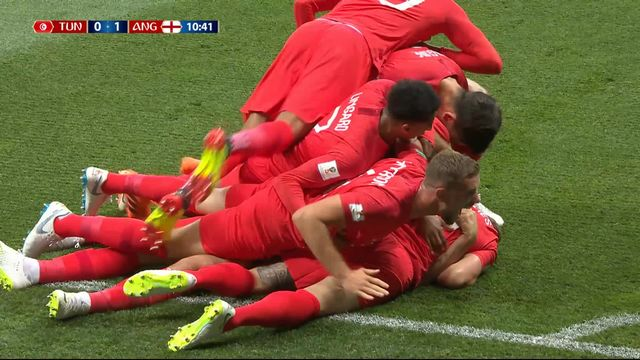 Gr.G, Tunisise - Angleterre (0-1): 11e, Kane ouvre le score [RTS]