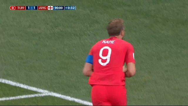 Gr.G, Tunisise - Angleterre (1-2): 91e, doublé de Kane [RTS]