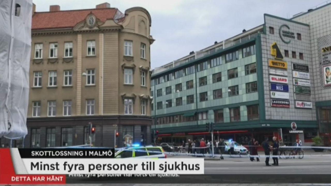 Fusillade à Malmö, en Suède. [RTS]