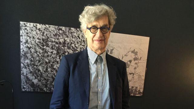 Le réalisateur allemand Wim Wenders. [Raphaël Wolf - RTS]