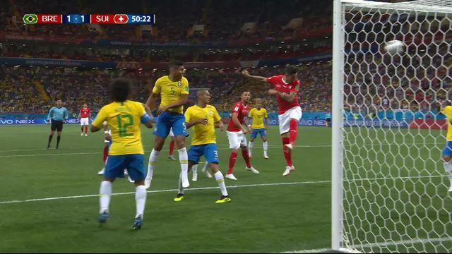 Gr. E, Brésil - Suisse 1-1: 50e Steven Zuber [RTS]