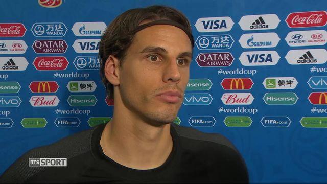 Gr. E, Brésil - Suisse 1-1: le gardien, Yann Sommer, à l'interview [RTS]