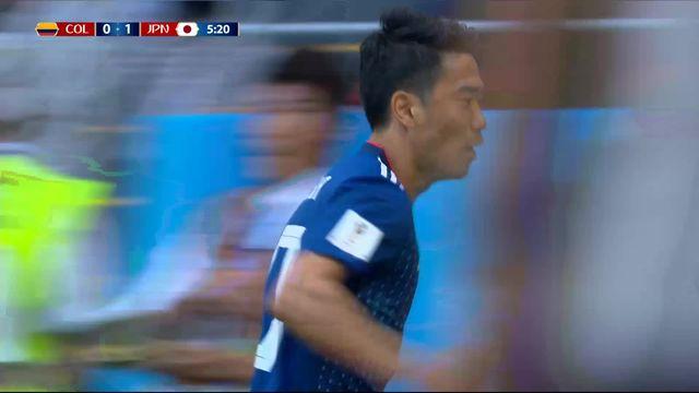 Gr.H, Colombie – Japon (0-1): 6e, Kagawa ouvre le score sur penalty [RTS]